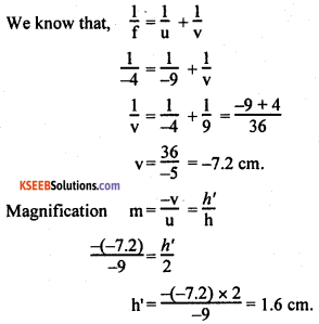 KSEEB Class 10 Science Important Questions Chapter 10 Light Reflection and Refraction img36