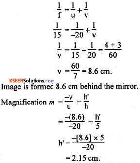 KSEEB Class 10 Science Important Questions Chapter 10 Light Reflection and Refraction img35
