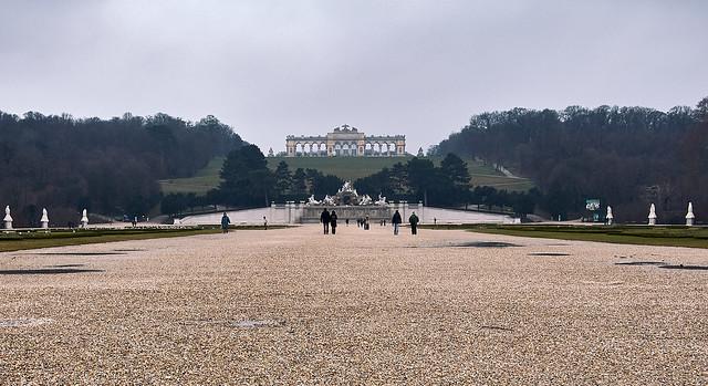 Schönbrunn en invierno 2