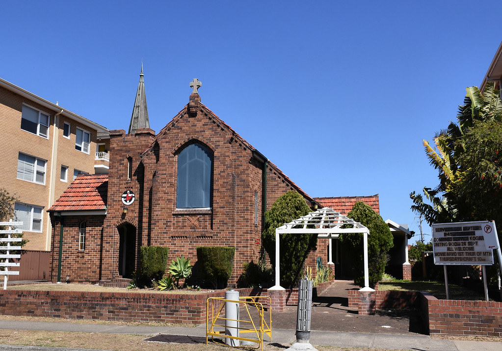 St Andrew's Uniting Church, Brighton-Le-Sands, Sydney, NSW.