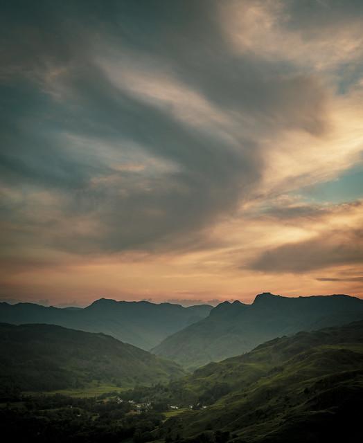 Langdale Pikes, Lake District, UK