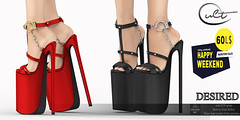 : CULT :DESIRED HEELS with HUD