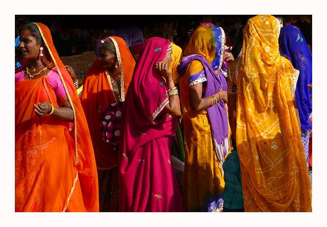 Femmes en couleurs