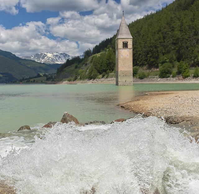 Der Turm im See - Graun, Vinschgau