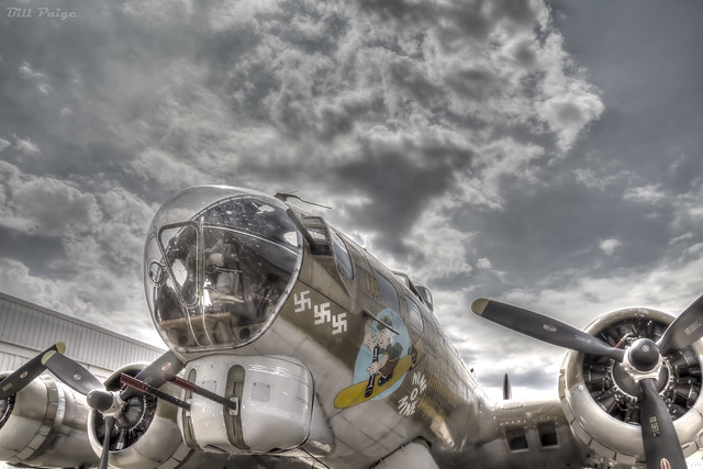B-17 Nine-o-Nine Ready for Flight (RIP)