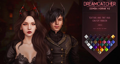 DREAMCATCHER // Demon horns Update