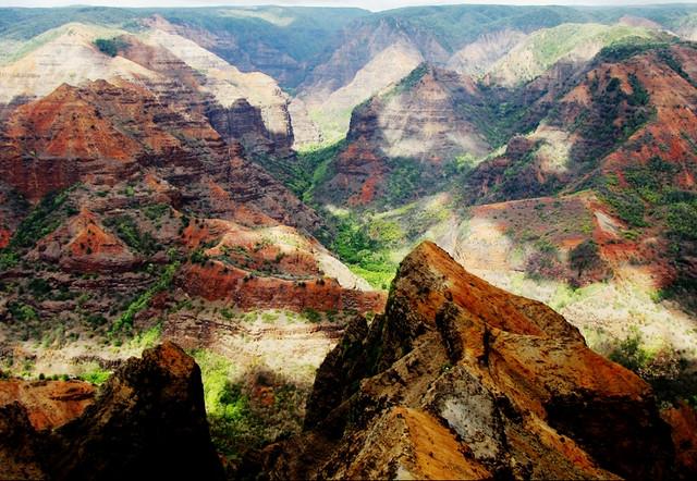 Waimea Canyon, Kauai, Hawaii,