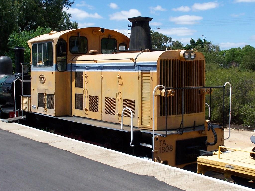 TA1808 Merredin Railway Museum 16 02 2006a