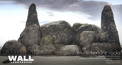 Fourth Wall / Multi-Texture Rocks / Fifty Linden Friday