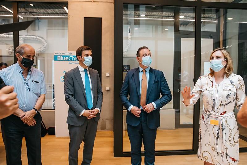 BlueChem - werkbezoek College van Burgemeester en Schepenen van de stad Antwerpen - 26/06/2020
