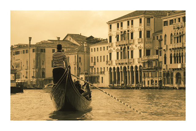 Venice - gondola ride and serenade