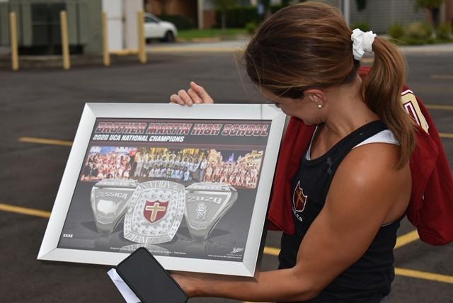 2020 Cheer Championship Rings
