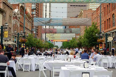 Larimer Square, Denver, Dining Al Fresco