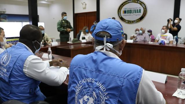 Sistema de las Naciones Unidas evalúa estrategias para fortalecer cerco epidemiológico en el estado Bolívar