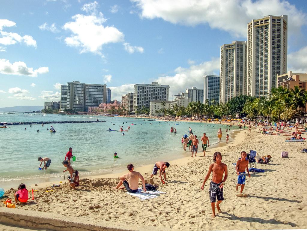 Waikiki Beach in Hawaii   Leo Boudreau   Flickr