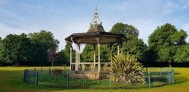 Bowie bandstand, Beckenham, South London