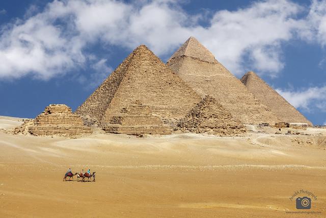 The Pyramid of Giza @ Cairo, Egypt