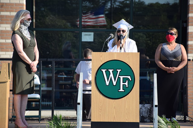 William Floyd High School Curbside Graduation Day 5 - June 26, 2020