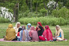 Meeting in the park - Kashmir 2010 by bag_lady