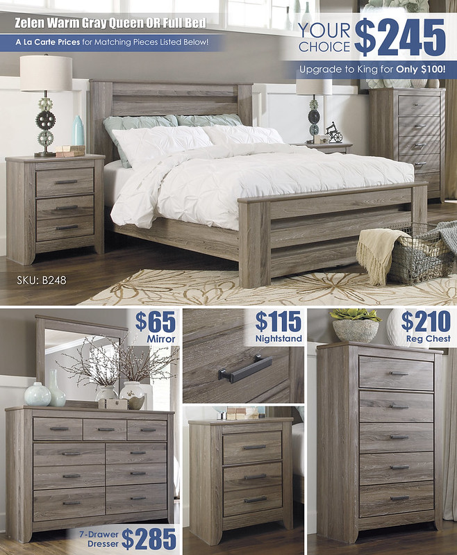 Zelen Warm Gray Bedroom Layout Special_B248