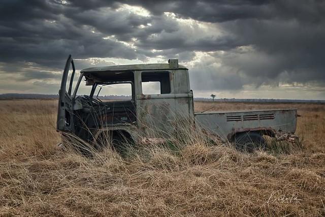 Abandoned VW