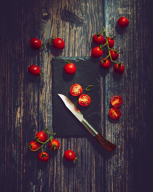 Cherry tomatoes Still Life
