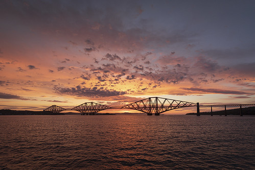 riverforth southqueensferry sunrise forthbridge
