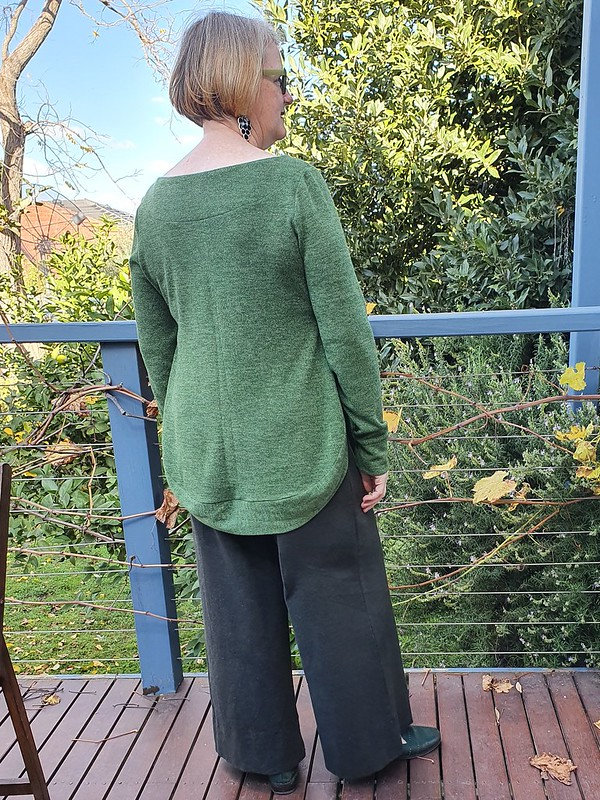 DIBY Club Adrianne Sweater in wool blend knit from Super Cheap Fabrics