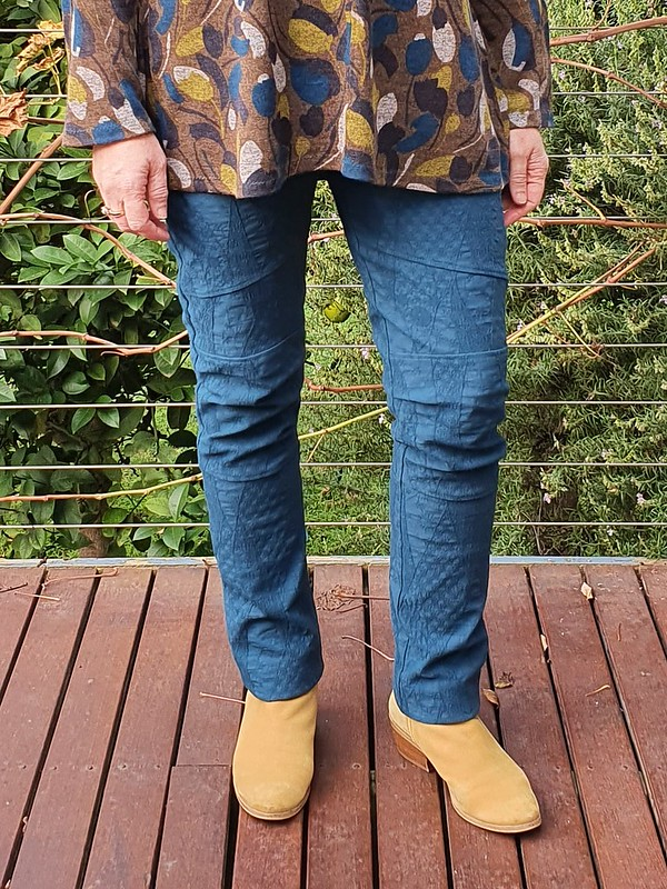Style Arc Mavis tunic, Cassie pants and Pattern Emporium My Embrace cardigan