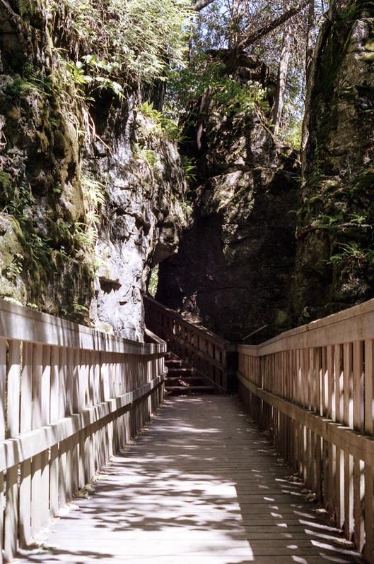 Mono Cliffs Observation Deck Path