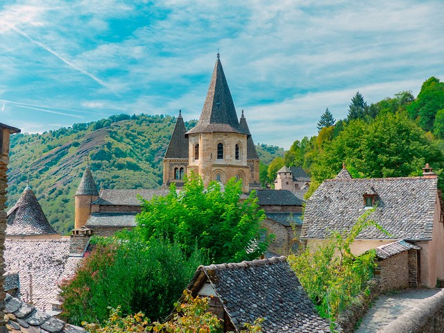 Conques Aveyron