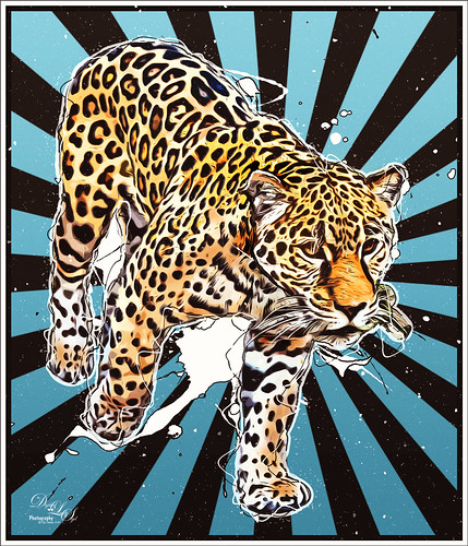 Cartoon image of a Jaguar from the Jacksonville Zoo