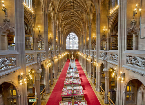 The John Rylands Library Reading Room