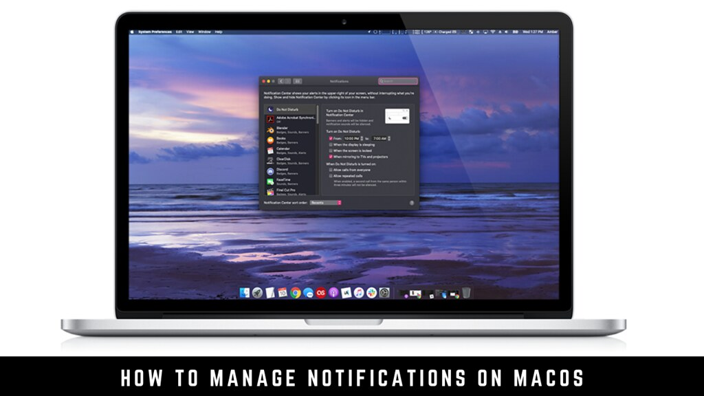 How to manage notifications on macOS