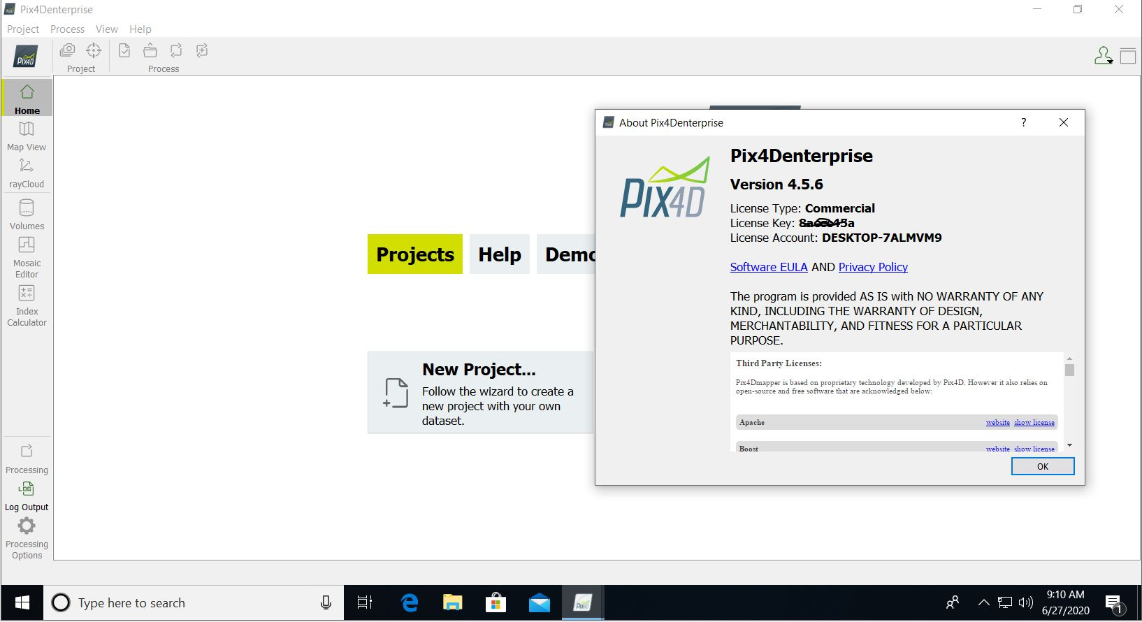 Working with Pix4Dmapper Enterprise 4.5.6 full license