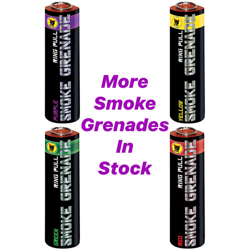 Smoke Grenades by Black Cat Fireworks