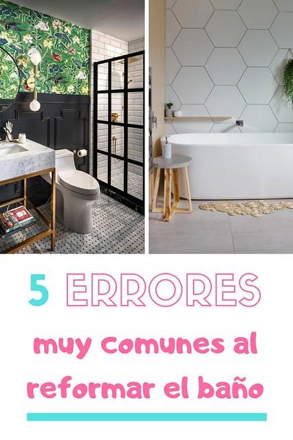 ▷ Principales erreurs lors de la réforme de la salle de bains. Réforme des salles de bains.