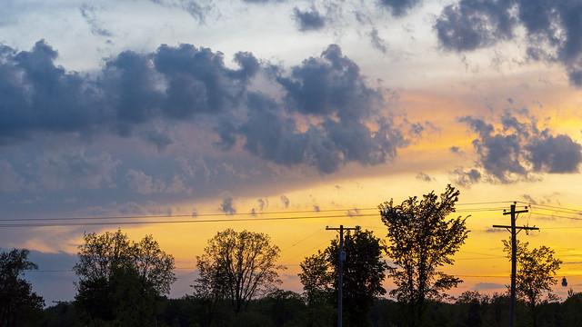 Ogemaw County sunset 05272020