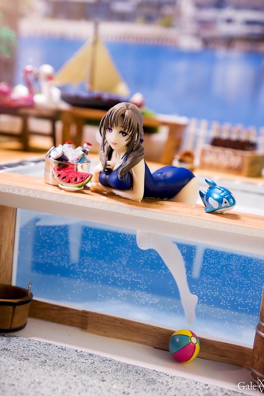 Pool Time with Mamako-san