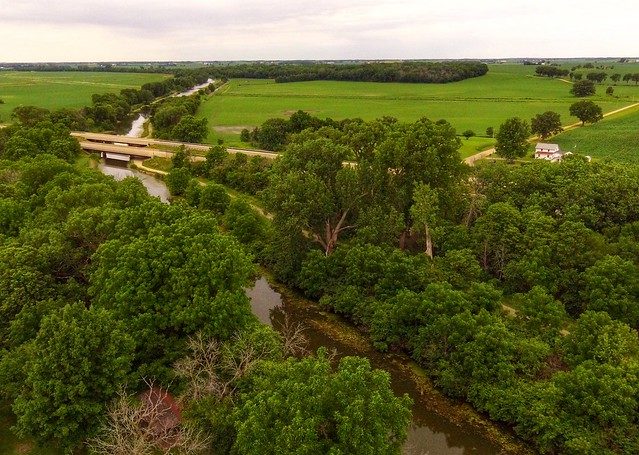 Hennepin Canal State Park. Shot with a DJI Phantom 3se drone