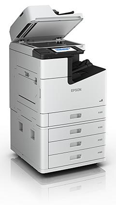 Epson's new multifunction inkjet WorkForce Enterprise copiers (WF-C20600, WF-C20750, WF-C21000).