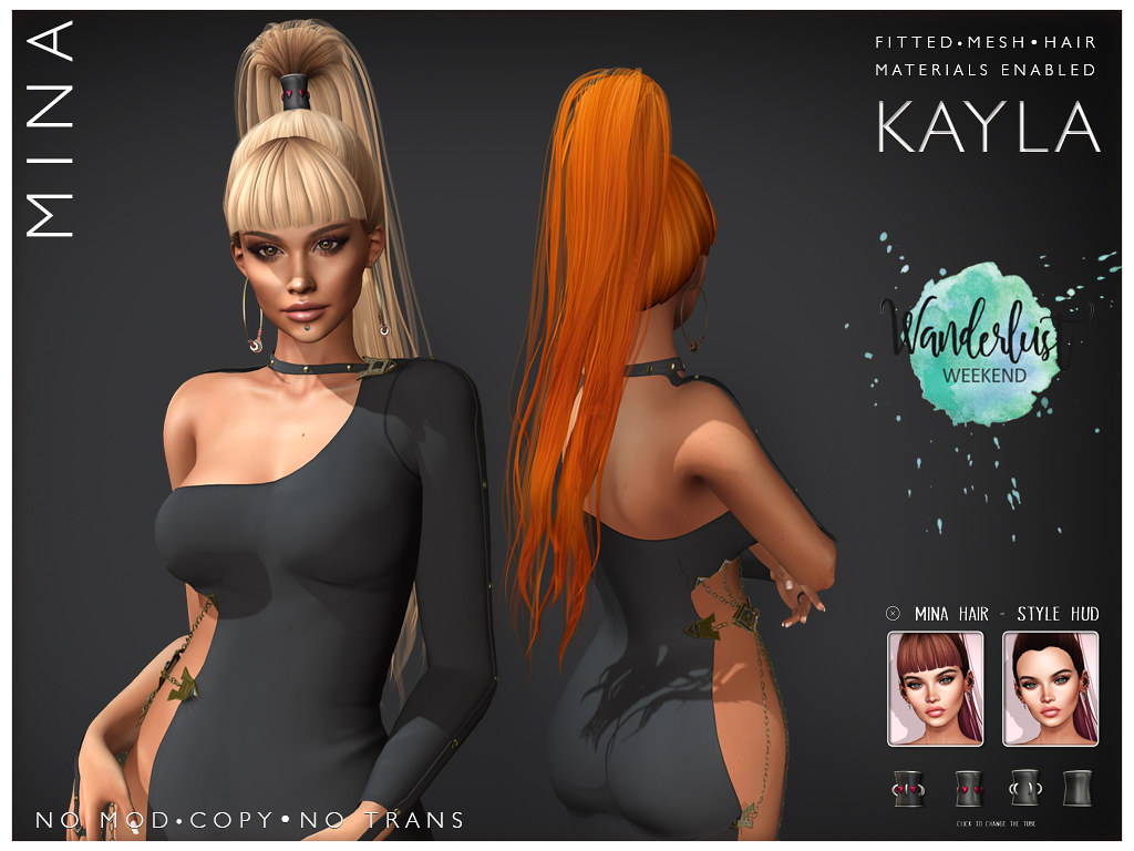 MINA Hair – Kayla – Wanderlust Weekend, 50L