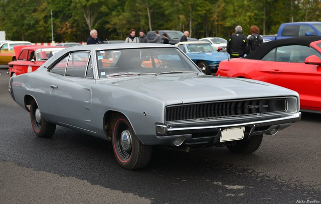 1968 Dodge Charger 2-door coupé