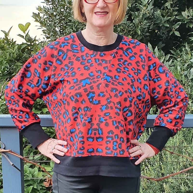 Papercut Patterns Pinnacle sweater