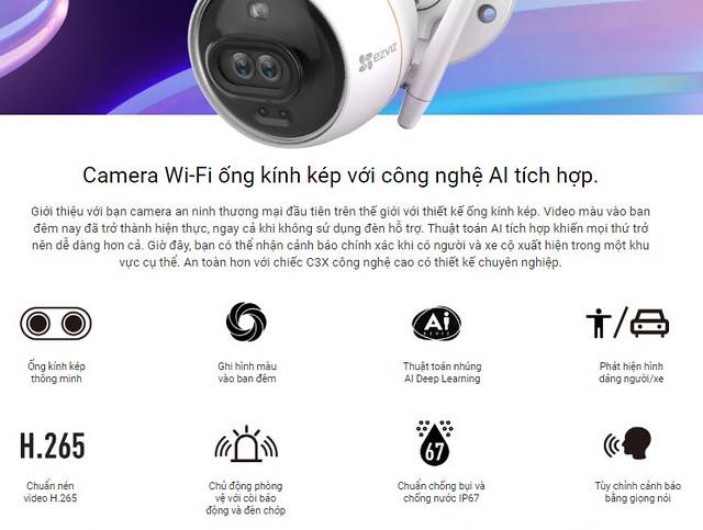 Camera Ezviz C3X 1080P