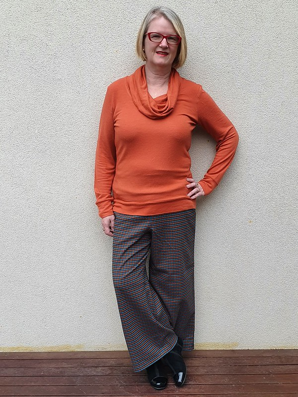 Style Arc Fifi pants in rayon poly spandex from The Cloth Shop Ivanhoe