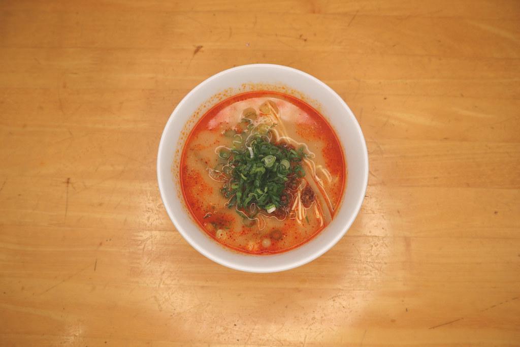 はんぶんの担々麺/Hanbun-no-dandan-men