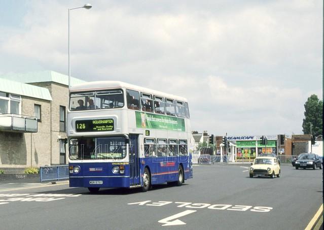 WMT 6979, Grove Street, Wolverhampton, June 1995