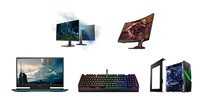 The G Series offers one of the broadest selections of gaming systems Dell has ever offered; reflecting the strong growth of the PC gaming industry and the big tent of gamers it welcomes.
