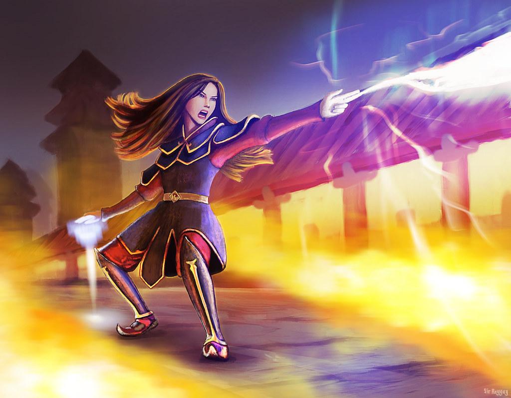 Azula's Rage : The Last Stand : procreate drawing